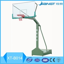 Hot sales glass fiber basketball backboard basketball stand