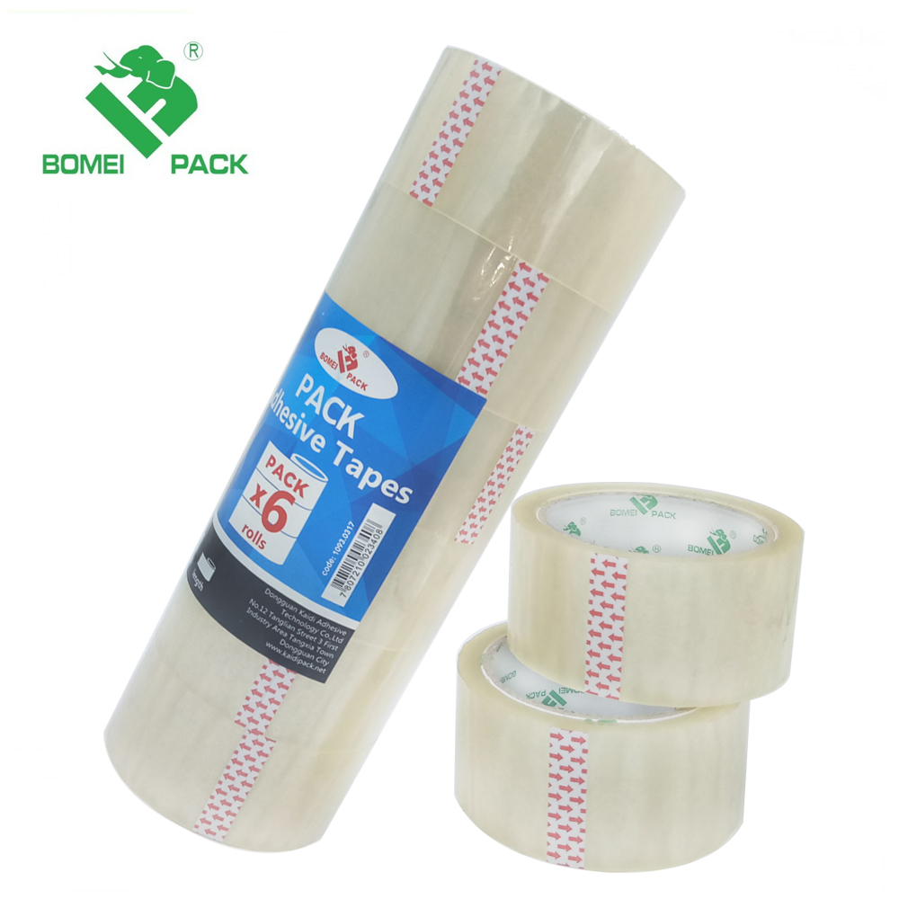 Clear adhesive circle bopp tape manufacturer/packing tape /opp tape