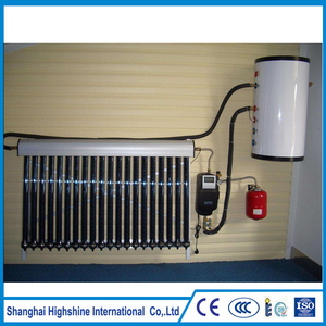 Promotional Wall Mounted Installation tankless water heater Pressurized Split Balcony Solar Water Heating System
