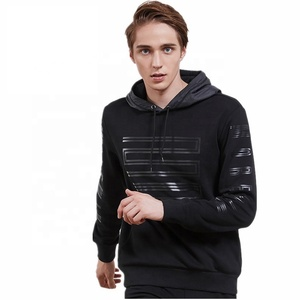 autumn/winter new men fleece thermal sweater fashion relaxed leisure sport 3d print hooded top warm comfort sweatshirt coat