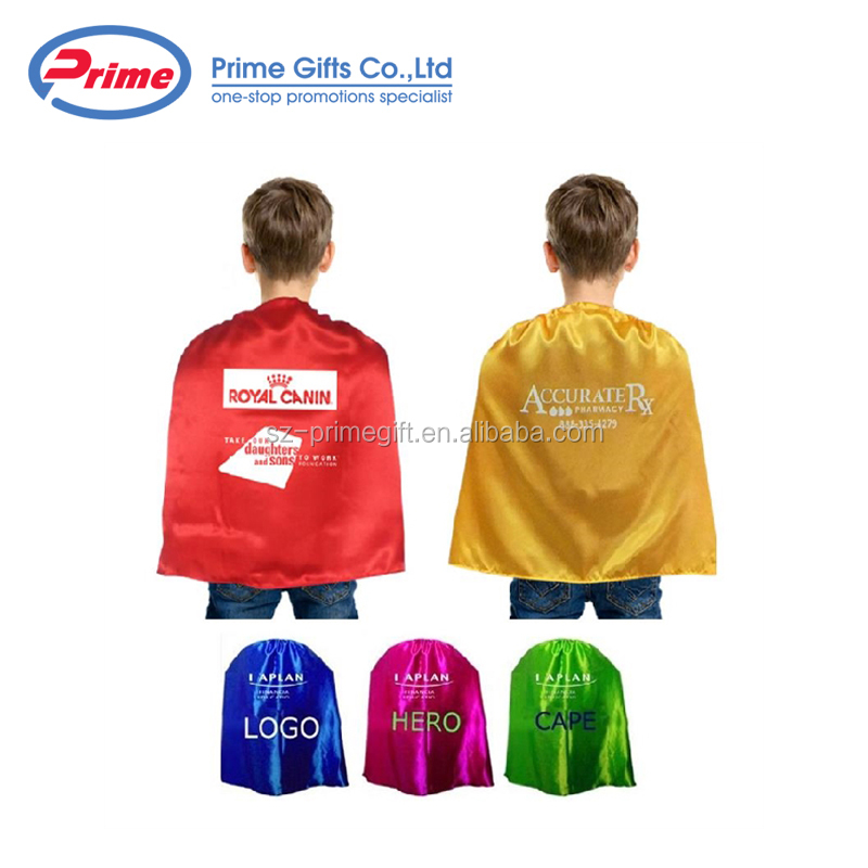 Promotional Eye Catching Single Layer Super Hero Cape