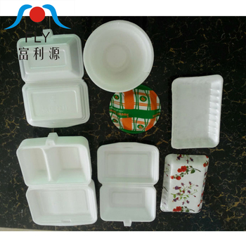 Hot Selling Fully Automatic Disposable Foamed Lunch Box Machine/Disposable Foam Plates Machinery