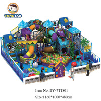Large Adventure soft Indoor Play Centre Equipment For Sale