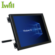 Customize 15'' wallmount touch screen all in one pc integrated J1900 quad core linux tablet computer for industrial automation