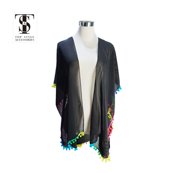2018 new trendy women beach kimono cardigan