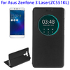 Flip Leather Case for Asus Zenfone 3 Laser, Window PU Flip Case for Asus