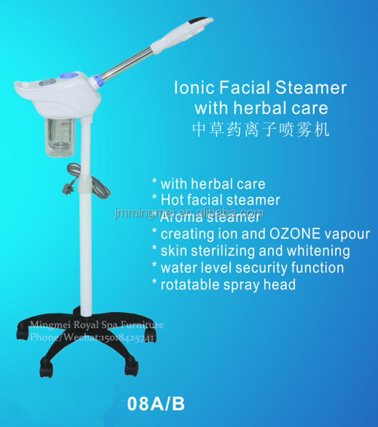 Mingmei new designs lonic |facial steamer| with herbal care