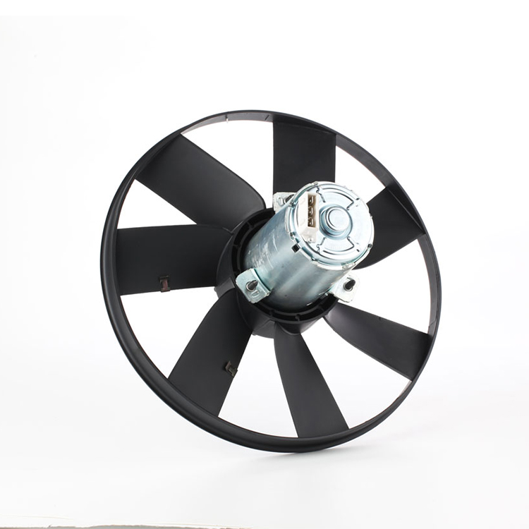 custom printed 12v axial cooling fan blade 4 mounting for VW-BORA