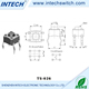 China supplier electrical DC 12V 0.5A black micro tact switches normally closed microswitch