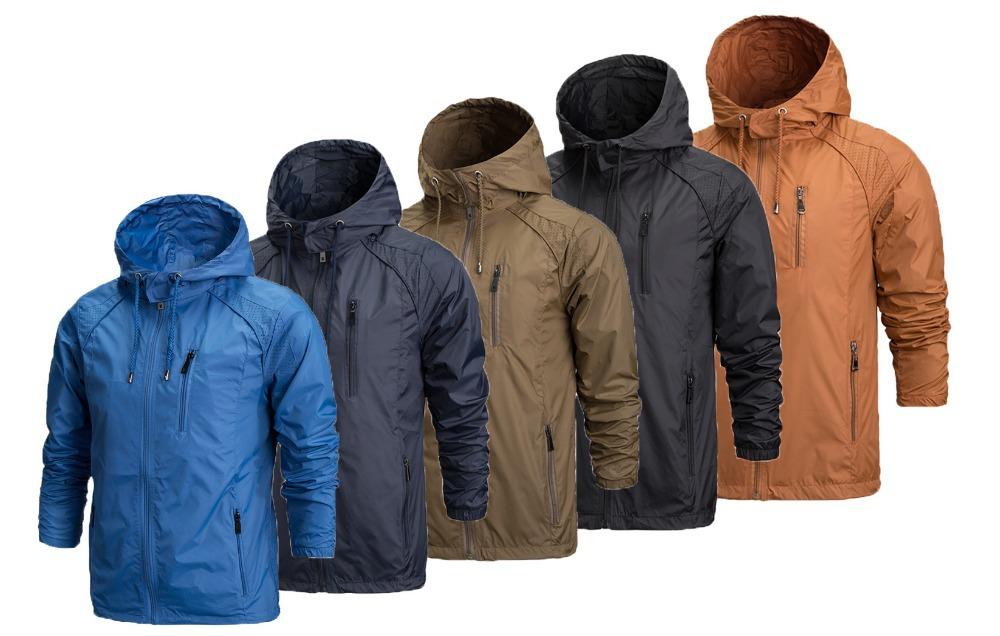 Branded Rain Jackets Coat Nj