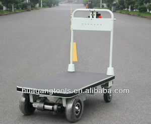 Powered Platform Trolley With Big Wheels For Transportation