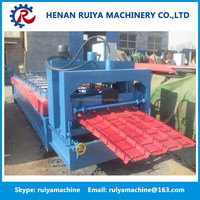 Cheap price roofing galvanized corrugated steel sheet tile making machine