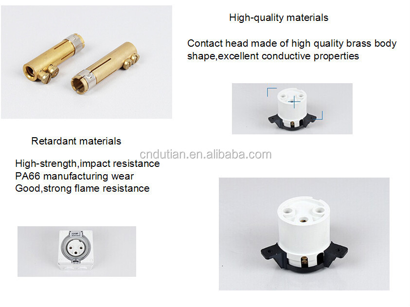 best design waterproof socket\/outlet Industrial surface socket