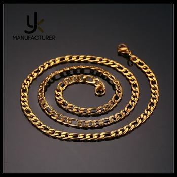 Mens Design Stainless Steel Fashionable Dubai Nk White Gold Chain