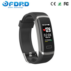 2018 promotion bluetooth activity fitness tracker with heart rate monitor