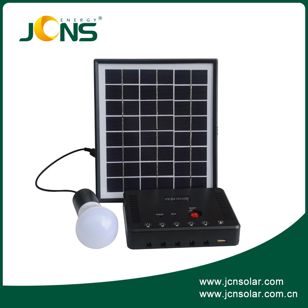 Jcns 3w 4w Camping Home Led Light System Solar Power Kits