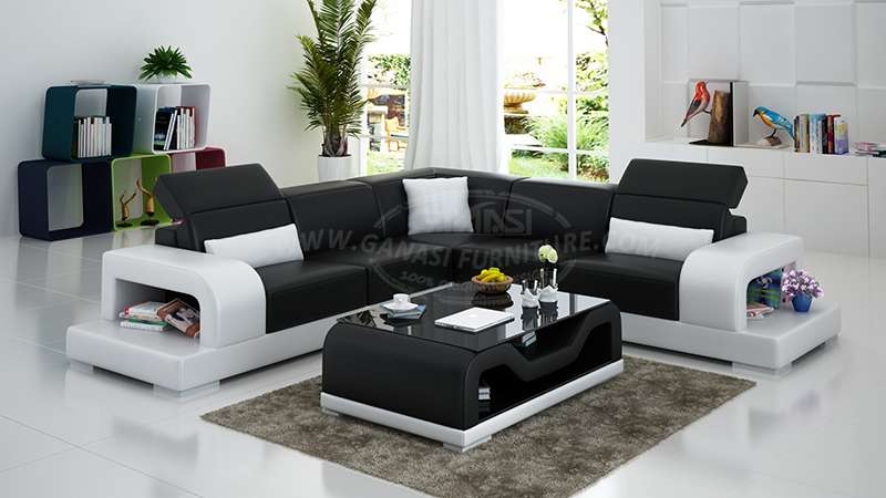 L Shape Corner Sofa Leather Sofas South African Prices Modern Chair