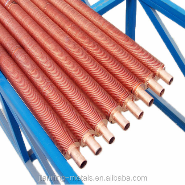 Hot sale helical exchanger finned tube