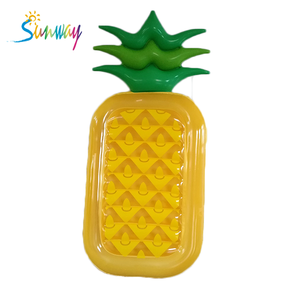 Beach Swimming Pool Inflatable Pineapple Pool Float Rafts