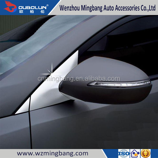 Hight Quality Car Accessories For Sportage 2015 ABS Chrome Window Moulding trims A Pillar