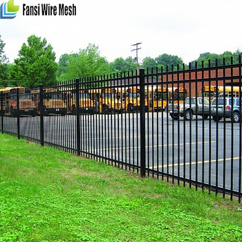 Steel Pipe Rail 40x40x1 2mm Boundary Wall Fence For Housing Site - Buy  Steel Boundary Wall Fence,Pipe Fencing For Horses,Galvanized Steel Pipe  Fence