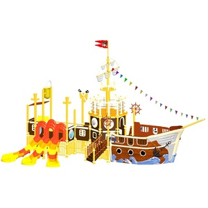 Build a pirate ship water amusement theme park