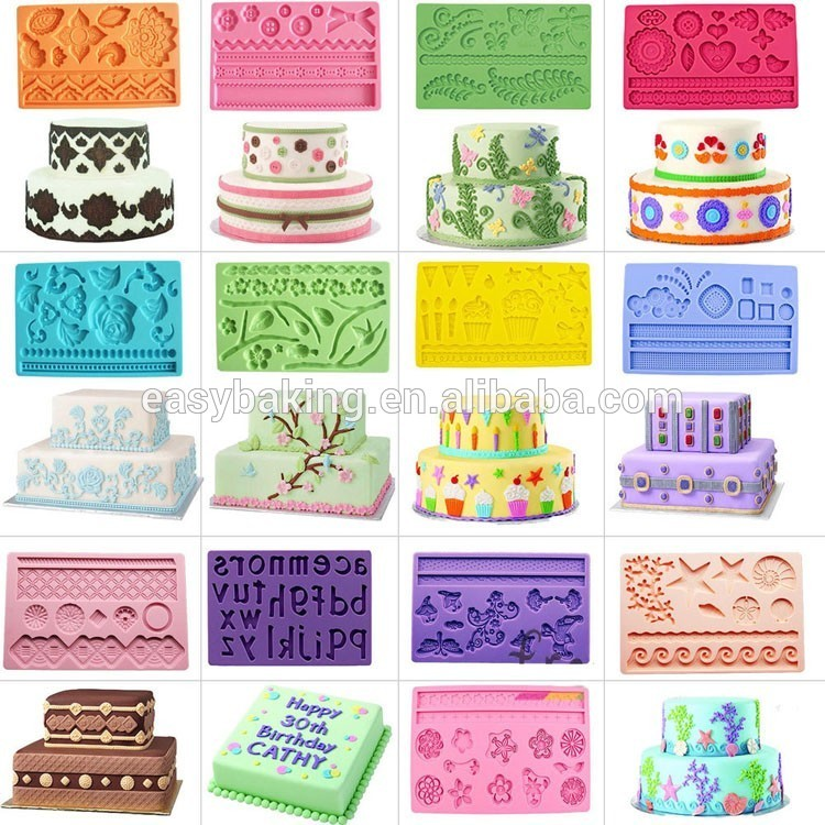 Wilton Series Fondant Mould Silicone Molds for Cake Decorating
