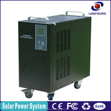 300W portable solar power system for small homes with TV,fan