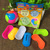 DIY 6PCS Ball Magic Plastic Building Blocks Assembly Piggy Bank Toys