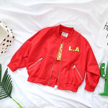 Y Fresco Ropa Otoño Buy Exteriores Niña Abrigos Negro Moda Prendas Niños Vestir De Chaqueta Cardigan Zipper Rojo Color Traje za1x6wzqF