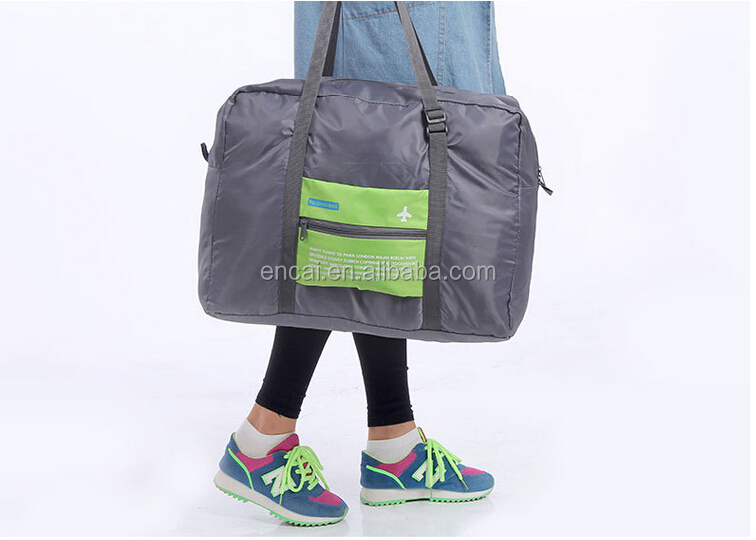 Encai High Quality Folding Traveling Handbag Wholesale Business Shoulder Bag Best Selling Tote Bag For Clothes Organizer