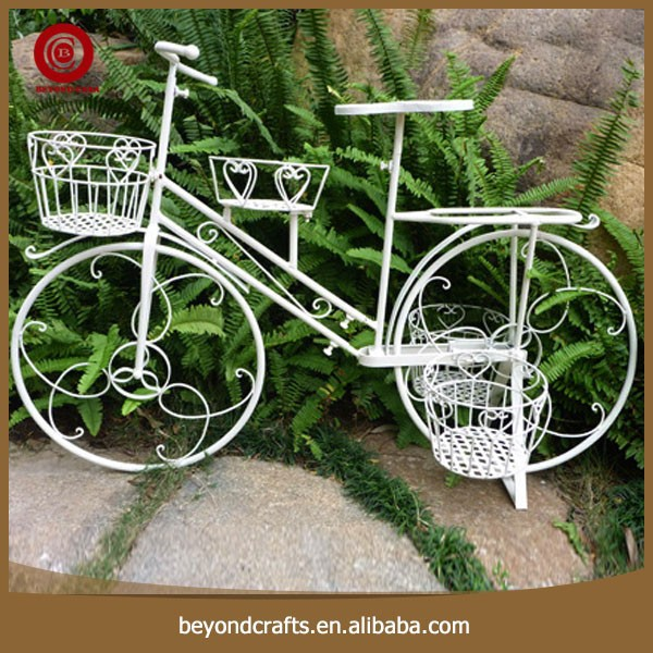 Pure Color Bicycle Modeling Design Cheaper Metal Flower Pot Stand   Buy  Metal Flower Pot Stand,Pure Color Flower Pot Stand,Flower Stand Product On  Alibaba. ...