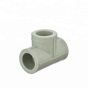 equal reduce 3 way ppr material colorful size 20-160mm ppr pipe fitting tee