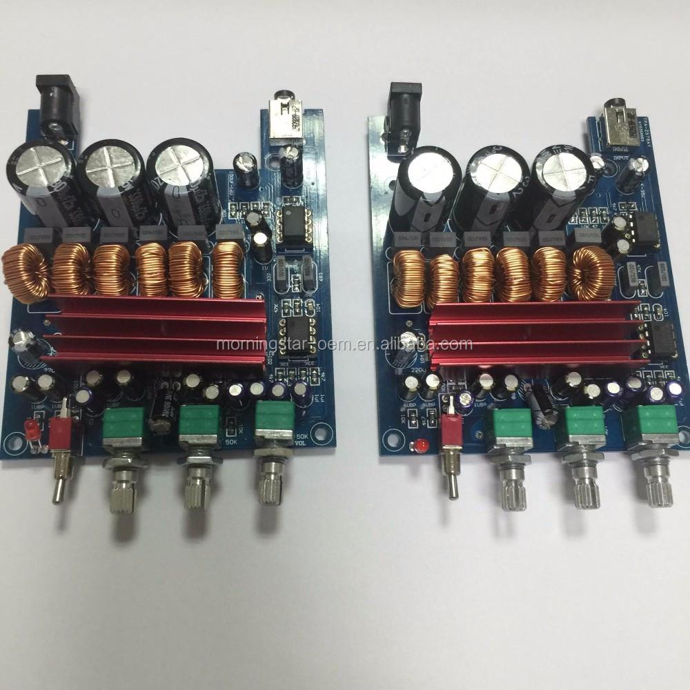 Tpa3116d2 Hifi 21 Channels Digital Amplifier Pcb Circuit Board 50w Audio Amplifierwith 50w2 100w Dc12