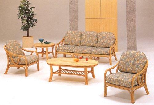 Cane Sofa Set Product On