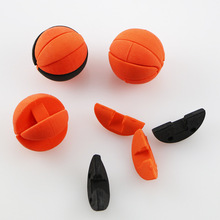 Toys stationery Cute promotional 3D basketball shaped detachable eraser
