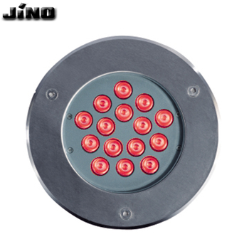 Recessed landscape IP65 15W Outdoor RGB led Fixed Buried inground light led underground