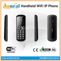Mobile Cordless WiFi SIP V2 VoIP Phone Wireless with 4 IP PBX Lines