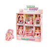 Warmbaby lovely toys christmas gifts doll miniature for wholesale