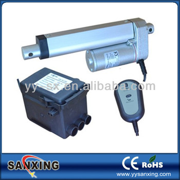 12v Mini Linear Actuator With Dc Motor,Control Box And Hand Set For Solar  Energy System - Buy Mini Linear Actuator,Types Of Linear  Actuators,Hydraulic