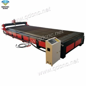 2000*6000mm/1500*6000mm metal sheet cutting machine Large format CNC Plasma cutter with Hyper plasma source QD-2060