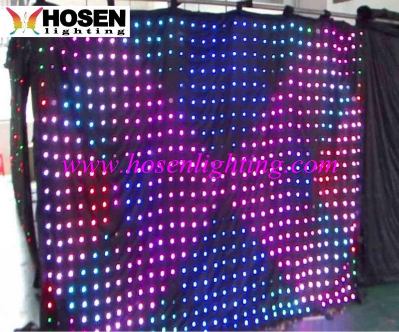 led video curtain light HS-E25V