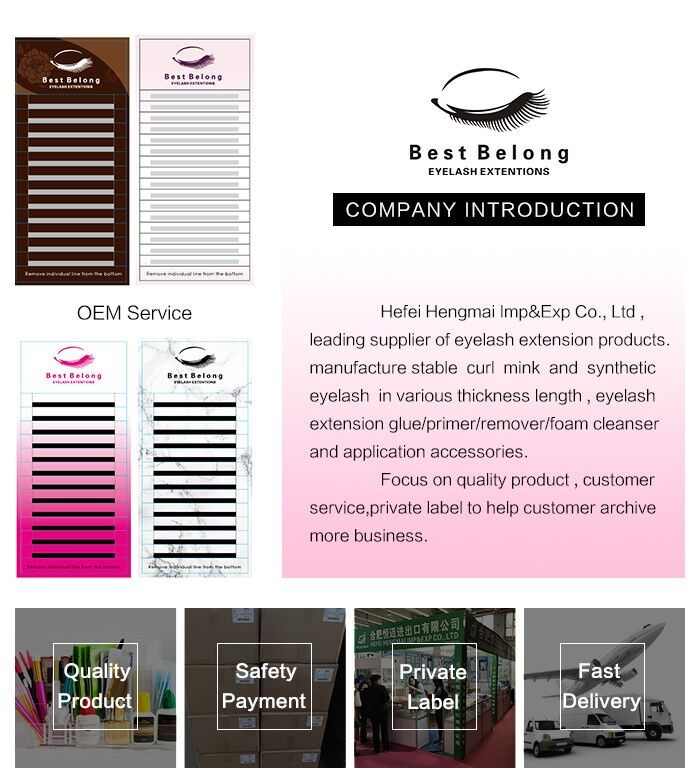 Marque de distributeur moussante Type Extension de cils maquillage nettoyant Logo personnalisé cils et paupières mousse nettoyant