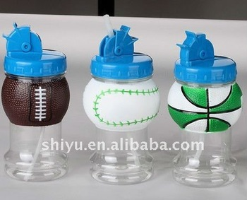 Sports Ball Water Bottle Basketball Soccer Football