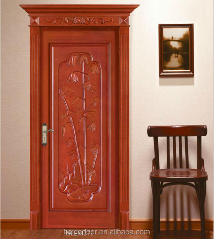 Bg-m404 Wood Room Door/gate/wood Door Design Window