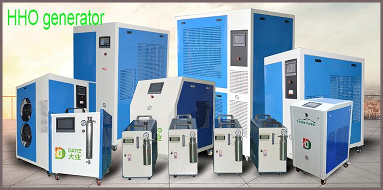 Nâu máy phát điện khí cặp nhiệt điện hàn HHO nhiên liệu hydro di động ống đồng hàn