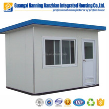 Decoration project free design sentry box shed prefab house