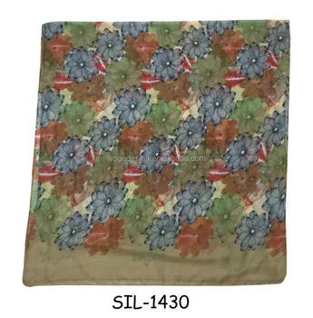 Fashion Hot Stylish Hk Women India Chiffon Voile Rayon Fabric Print