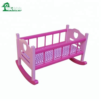 Hot Sale Kids Toys Doll Rocking Bed Buy Doll Bed For Sale Product