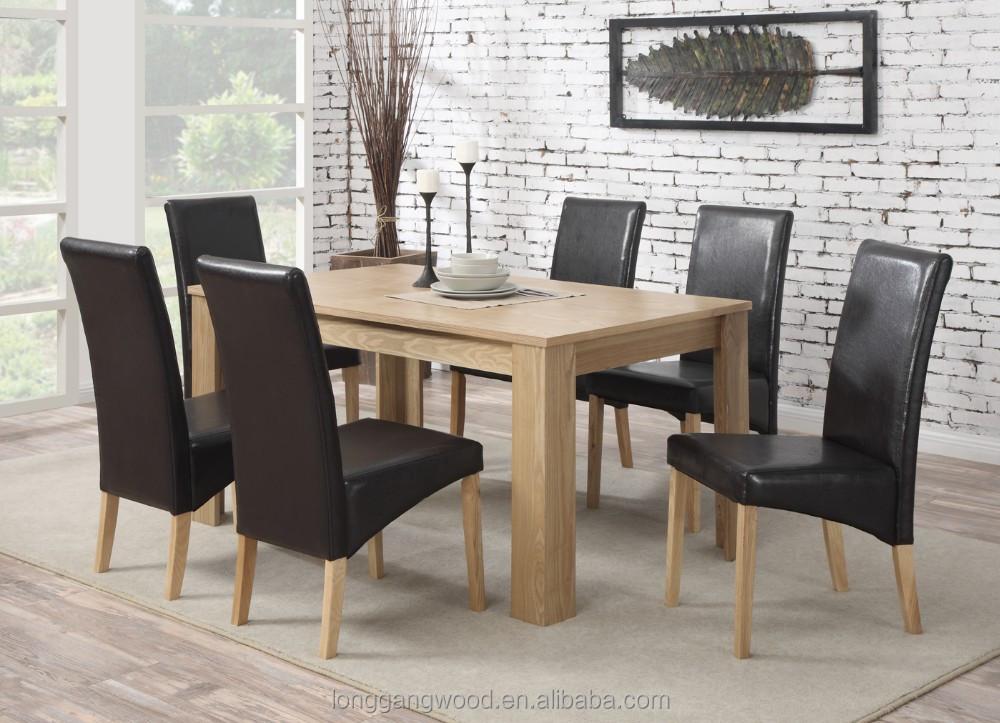 Reposteria y sillas de madera mesa de comedor juego de muebles de ...